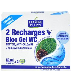 Recharges Bloc gel WC