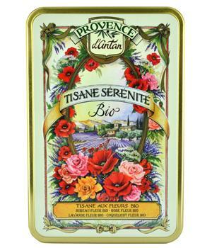 Tisane Sérénité bio Coffret - Provence d'Antan