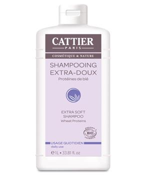 Shampooing extra doux 1 litre - Cattier
