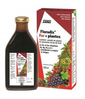 Floradix Fer Plantes 500 ml - Salus