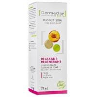 Masque express relaxant-régénérant Nectar de pêche 75ml - Dermaclay