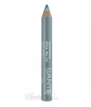 Crayon fard à paupières bio n°2 Argent 3.2gr - Santé