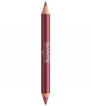 Crayon duo contour des lèvres et gloss Natural look, maquillage bio Santé