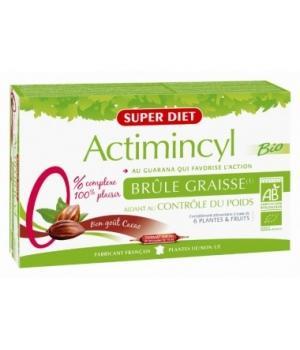 Actimincyl bio brûle graisse 20 ampoules Super Diet