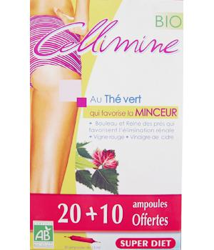 Cellimine bio 20 Ampoules + 10 gratuites Super Diet