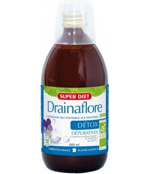 Boisson drainante DrainaFlore 480ml Super Diet Promo moins 2 euros