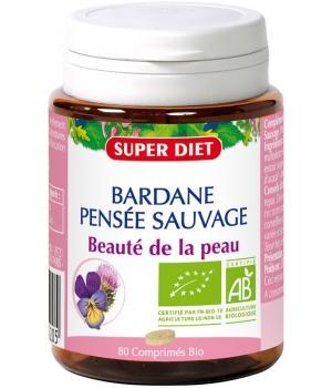 Bardane Pensée Sauvage bio comprimés - Super Diet