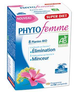 Phytofemme 45 plus 120 comprimés - Super Diet