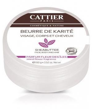 Beurre de Karité bio Fleurs des îles - Cattier