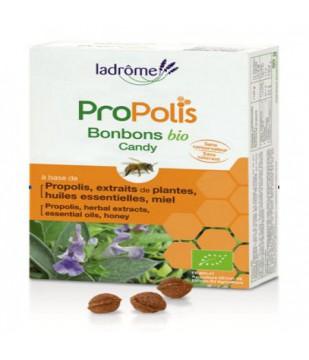 Bonbons à la propolis bio et à l'échinacée 50 gr - Ladrôme