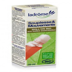 Roll on Souplesse et Mouvements 50 ml - Ladrôme