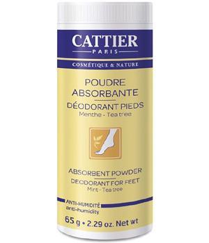 Poudre absorbante - Déodorant pieds,   Soins bio pieds et jambes,  Soins du corps bio Aromatic Provence