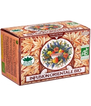 Infusion plaisir Orientale bio - Romon Nature