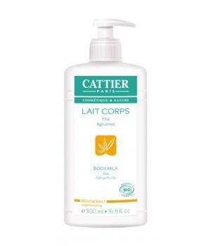 Lait Hydratant Régénérant Pamplemousse Citron 500 ml - Cattier lait corporel bio Aromatic provence