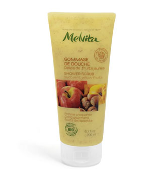 Gommage de Douche Fruits jaunes - Melvita