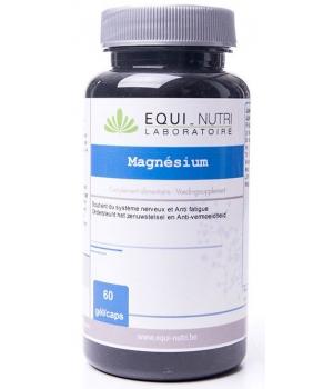 Magnésium 500 - 60 gélules végétales Equi-Nutri