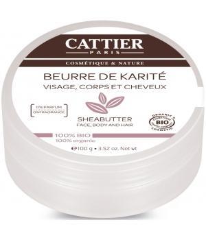 Beurre de Karité bio 100 gr - Cattier