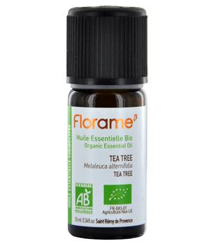 Huile essentielle bio Tea Tree 10 ml - Florame arbre à thé Aromatic Provence