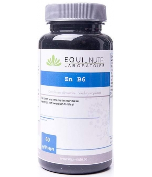 Zinc B6 60 gélules Equi-nutri