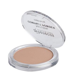 Poudre compacte Sand - Benecos maquillage bio du teint Aromatic Provence