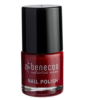 Vernis à ongles Cherry Red - Benecos