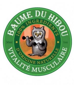 Baume du Hibou vitalité musculaire - Oléanat