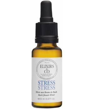 Elixir composé bio STRESS 20ml Les Fleurs de Bach Paris,Elixir composé bio STRESS 20ml Elixirs & Co,aromatic provence
