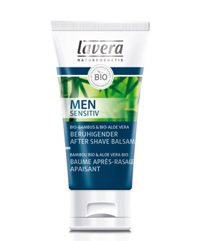 Baume Après-Rasage apaisant  Men Sensitiv 50ml - Lavera soin après rasage bio Aromatic provence