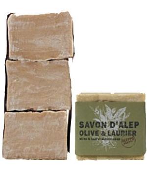Savon d'Alep Laurier 12% Aleppo Soap Lot 3 savons - Tadé