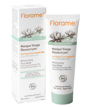 Masque Visage Ressourçant au Nénuphar bio - Florame
