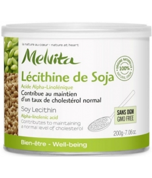 Lécithine de Soja Pot 200 g - Melvita