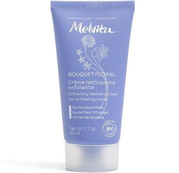 Crème Nettoyante exfoliante Bouquet Floral - Melvita