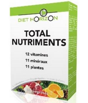 Total Nutriments 30 comprimés - Diet Horizon