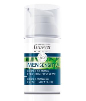 La Crème Hydratante Men sensitiv 30ml  - Lavera ésistance naturelle de la peau Aromatic provence