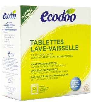 Tablettes Lave Vaisselle à l'Oxygène actif - Ecodoo