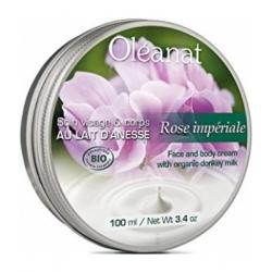 Baume de soin au Lait d'Anesse Rose Impériale 100 ml - Oléanat