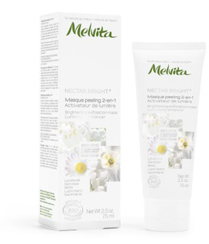 Masque peeling 2 en 1 Nectar Bright - Melvita