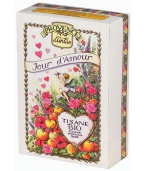 Tisane Jour d'Amour bio recharge - Provence d'Antan