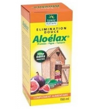 ALOELAX Sirop Elimination douce 150 ml - Tonic Nature - laxatif doux