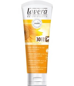 Crème solaire sensitive pour toute la famille SPF 30 Haute protection - Lavera