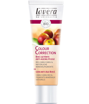 Colour correction Soin anti-âge 8en1 teinté - Lavera