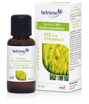 Composition bio ETE à la Citronnelle - Ladrôme