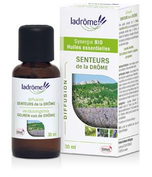 Composition bio SENTEURS de la Drôme - Ladrôme