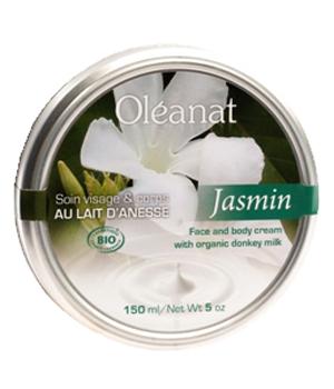 Baume de soin au Lait d'Anesse Jasmin 100 ml - Oléanat