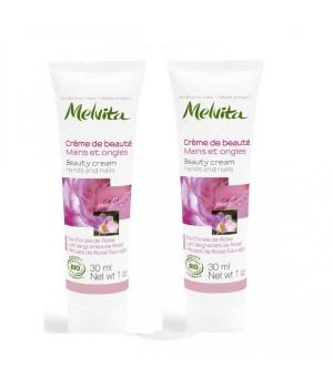 Duo Crèmes Mains Nectar de Rose - Melvita
