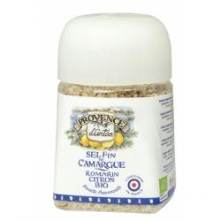 Sel fin de Camargue Romarin bio Citron Recharge - Provence d'Antan