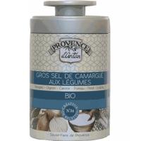 Gros sel de Camargue aux légumes bio Boîte métal 90 gr - Provence d Antan - Aromatic Provence