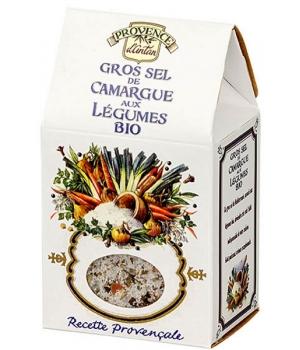 Gros sel de Camargue aux légumes bio Recharge - Provence d'Antan