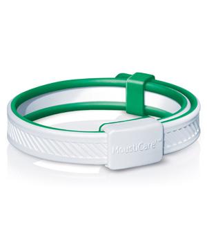 Bracelet Anti-moustiques Protection naturelle Blanc/Vert - MoustiCare