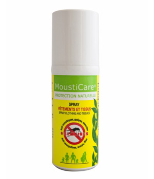 Spray Vêtements & Tissus Anti-moustique Protection naturelle - MoustiCare